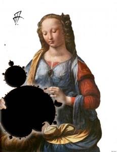 Maria mit dem fraktalem Kinde